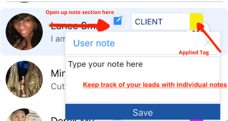 tag inbox organisation